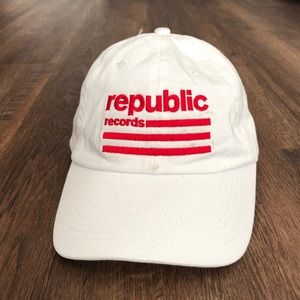 Republic Records Hat hip hop punk rock grunge